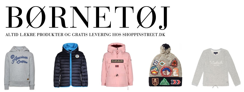 Børnetøj - tøj og sko gammel kongevej shopping street- shoppinstreet.dk - ShoppinStreet.dk