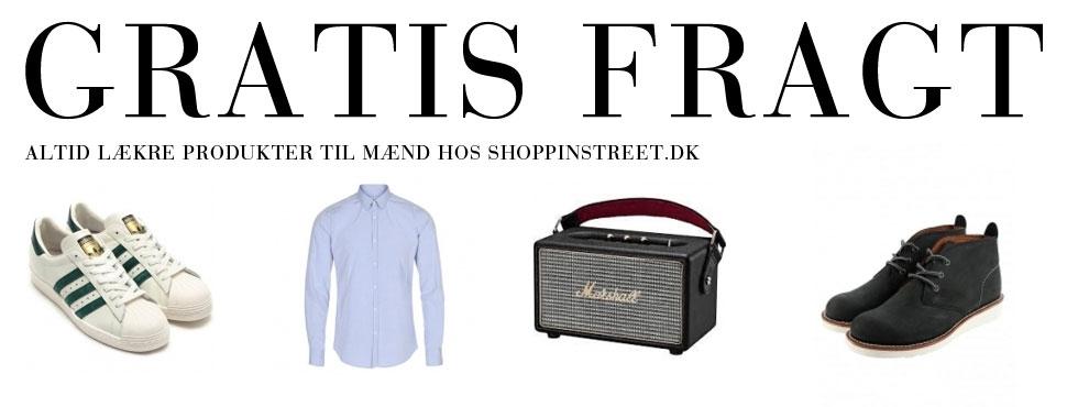 Herre modetøj- ShoppinStreet.dk -  Jægersborg Allé