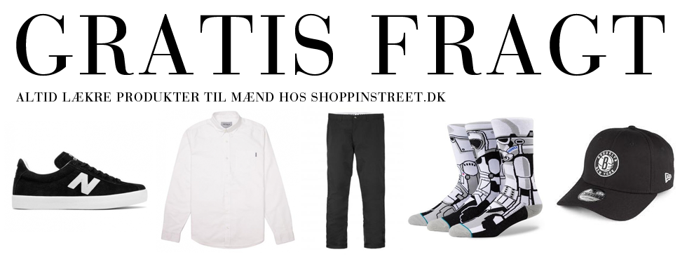 Herre modetøj tilbud- ShoppinStreet.dk - Østerbrogade København