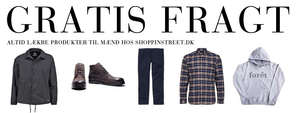 Herre modetøj tilbud- ShoppinStreet.dk - Strøget København