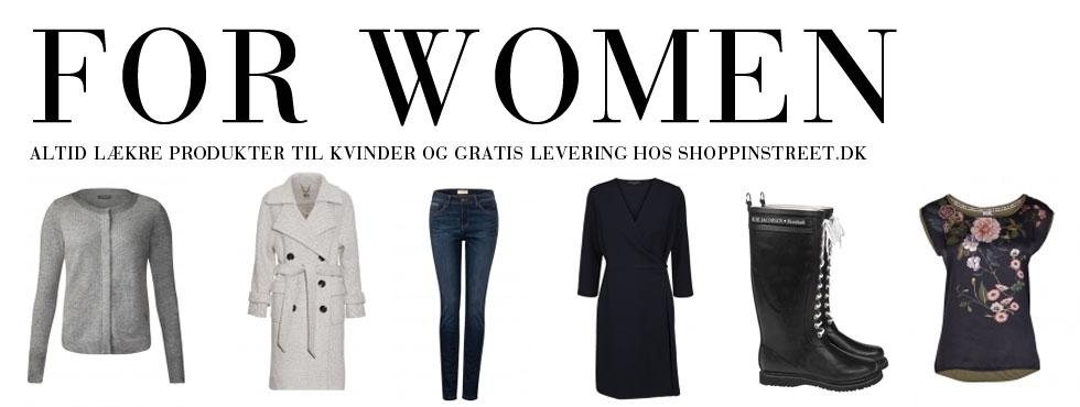 Kvinder modetøj - ShoppinStreet.dk - Jægersborg Allé