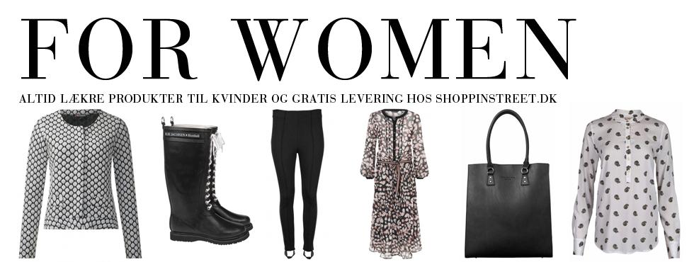 Kvinder modetøj - ShoppinStreet.dk - Ordrupvej shopping