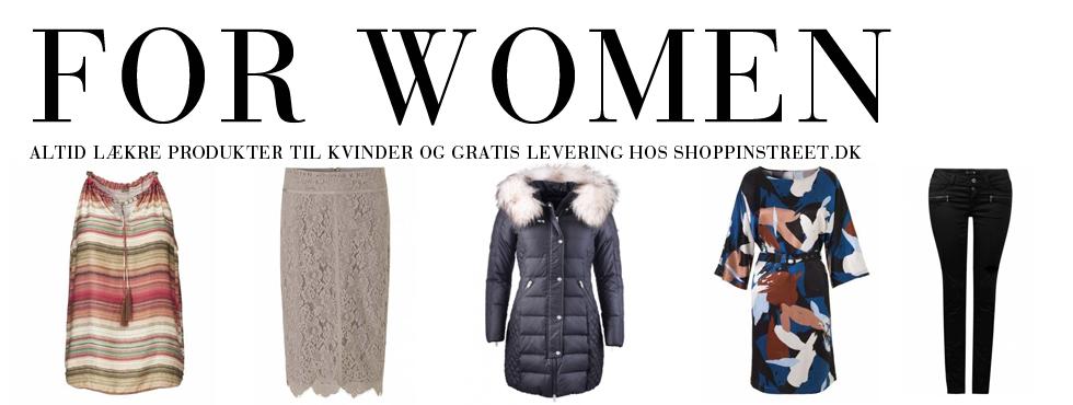 Kvinder modetøj - ShoppinStreet.dk - Store Kongensgade shopping
